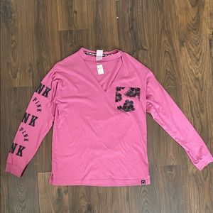New PINK Long Sleeve Top